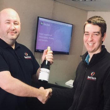 Photocopier dealer SoluTech celebrates